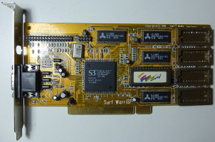 Surf Warrior Plus S3 ViRGE/DX (COM.VID.PC.0005.P) (1996)
