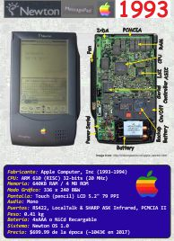 Ficha: Apple Newton MessagePad H1000 (1993)
