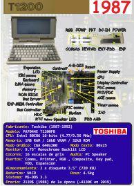 Ficha: Toshiba T1200FB (1987)