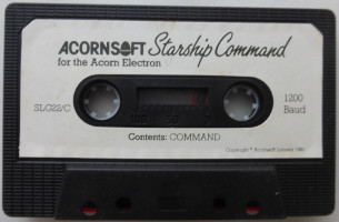 STARSHIP COMMAND (Acorn)(1983)