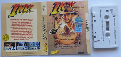 INDY INDIANA JONES Y LA ÚLTIMA CRUZADA (Amstrad CPC)(1989)
