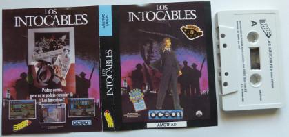 LOS INTOCABLES  (Amstrad CPC)(1989)