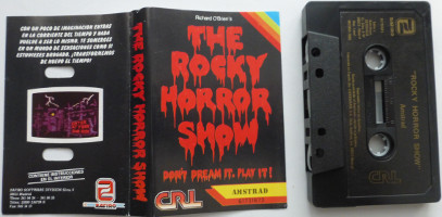 THE ROCKY HORROR SHOW (Amstrad CPC)(1988)