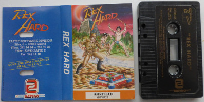 REX HARD (Amstrad CPC)(1988)