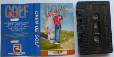 OPEN DE GOLF (Amstrad CPC)(1988)