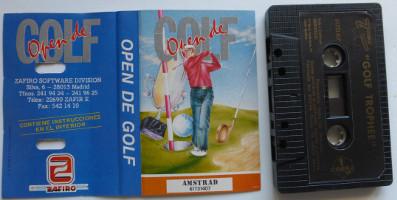 OPEN DE GOLF (Amstrad CPC)(1988)