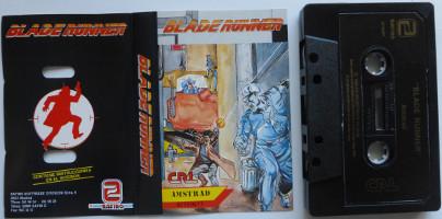 BLADE RUNNER (Amstrad CPC)(1988)