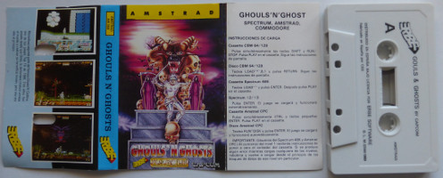 GHOULS N'GHOSTS (Amstrad CPC)(1989)