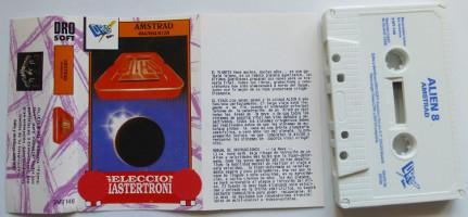 ALIEN 8 (Amstrad CPC)(1988)