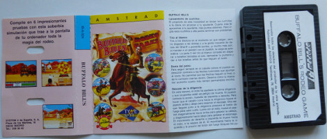 BUFFALO BILL'S (Amstrad CPC)(1989)