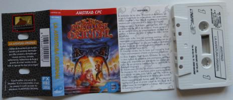 LA AVENTURA ORIGINAL (Amstrad CPC)(1989)