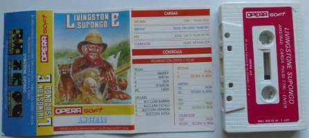 LIVINGTSON SUPONGO (Amstrad CPC)(1986)