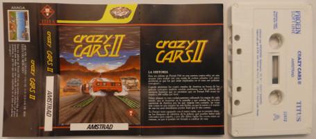 CRAZY CARS II (Amstrad CPC)(1989)