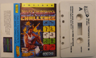 DALEY THOMPSON'S OLYMPIC CHALLENGE (Amstrad CPC)(1988)