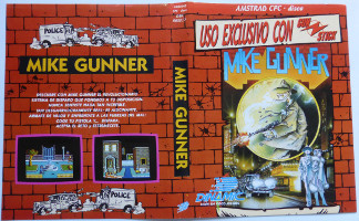 MIKE GUNNER (Amstrad CPC)(1988)