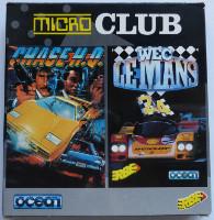 MICRO CLUB: CHASE HQ (1989-OCEAN SOFTWARE TAITO), WEC LE MANS (1989-IMAGINE SOFTWARE) (Amstrad CPC)(1991)