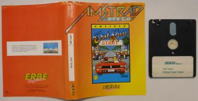 OUT RUN (Amstrad CPC)(1987)