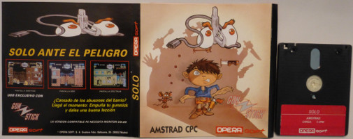 SOLO (Amstrad CPC)(1989)