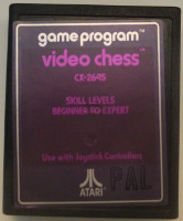 VIDEO CHESS (Atari 2600)(1978)
