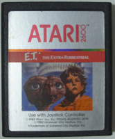E.T. THE EXTRA-TERRISTRIAL (Atari 2600)(1982)