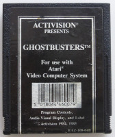 GHOSTBUSTERS (Atari 2600)(1985)