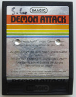 DEMON ATTACK (Atari 2600)(1982)