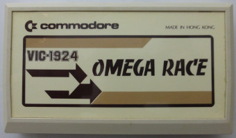 OMEGA RACE (Commodore VIC)(1981)