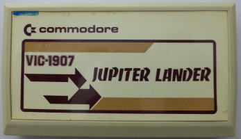 JUPITER LANDER (Commodore VIC)(1981)