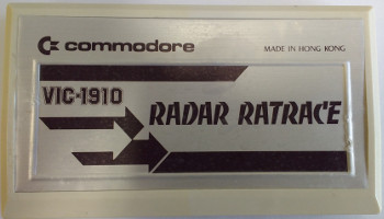 RADAR RATRACE (Commodore VIC)(1981)