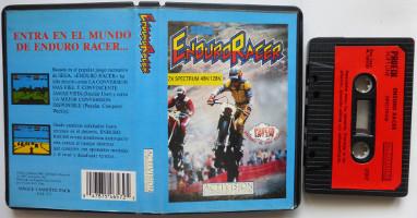 ENDURO RACER (Spectrum)(1987)
