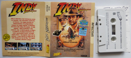 INDY INDIANA JONES Y LA ÚLTIMA CRUZADA (Spectrum)(1989)
