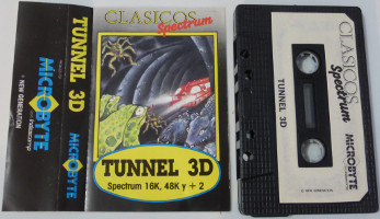 TUNNEL 3D (Spectrum)(1983)