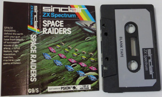 SPACE RAIDERS (Spectrum)(1982)