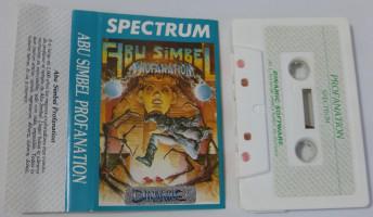 ABU SIMBEL PROFANATION (Spectrum)(1985)
