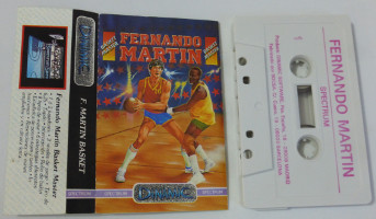 FERNANDO MARTIN BASKET MASTER (Spectrum)(1986)