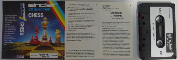 CHESS (Spectrum)(1982)