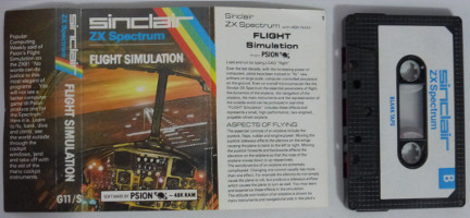 FLIGHT SIMULATION (Spectrum)(1982)