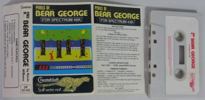 PERILS OF…. BEAR GEORGE (Spectrum)(1984)