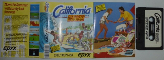 CALIFORNIA GAMES (Spectrum)(1987)