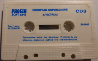 EUROPEAN SUPERLEAGUE (Spectrum)(1991)