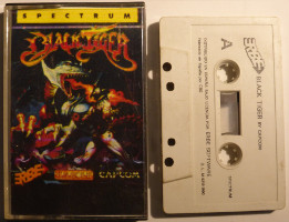 BLACK TIGER (Spectrum)(1990)