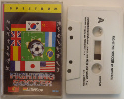 FIGHTING SOCCER (Spectrum)(1989)