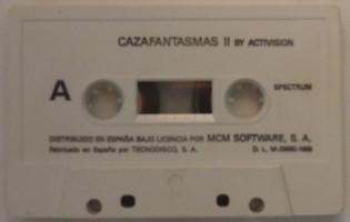 CAZAFANTASMAS II (Spectrum)(1989)