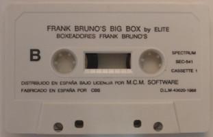 FRANK BRUNO'S BIG BOX: BOXING/AIRWOLF (Spectrum)(1989)