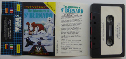 The Adventures of ST BERNARD (Spectrum)(1984)