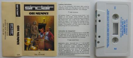 OH MUMMY (Spectrum)(1982)