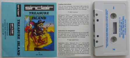 TREASURE ISLAND (Spectrum)(1982)