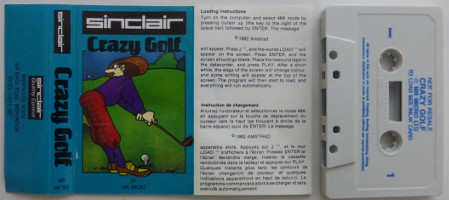 CRAZY GOLF (Spectrum)(1982)
