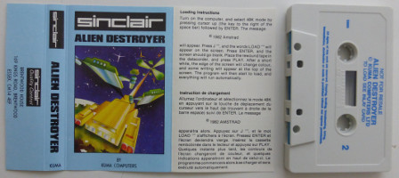 ALIEN DESTROYER (Spectrum)(1982)