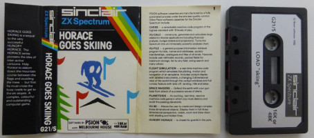 HORACE GOES SKIING (Spectrum)(1982)